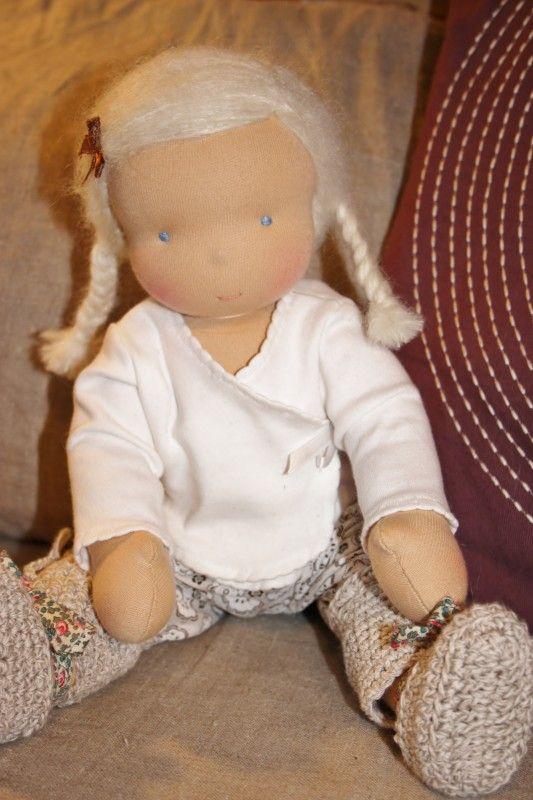 cute doll #waldorf doll | Waldorf Dolls ~ | Pinterest | Muñecas ...