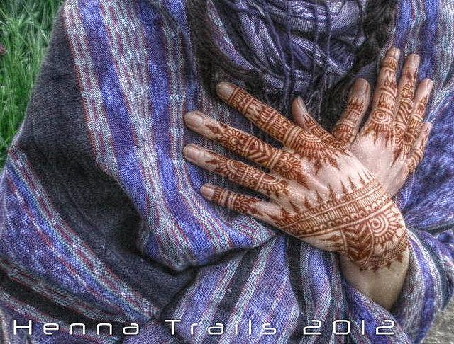 natural henna and Guatemalan textiles