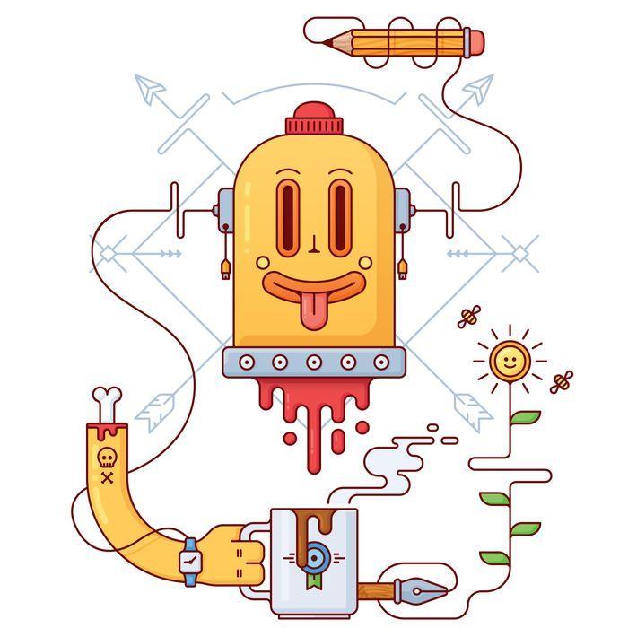 Creative mind Art Print by Dmitry Mir   Society6