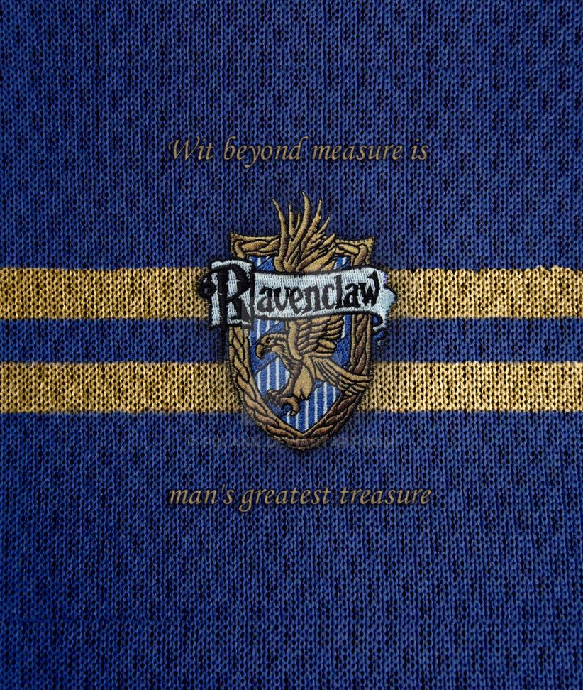 Ravenclaw phone wallpaper--wit beyond measure is man's ...