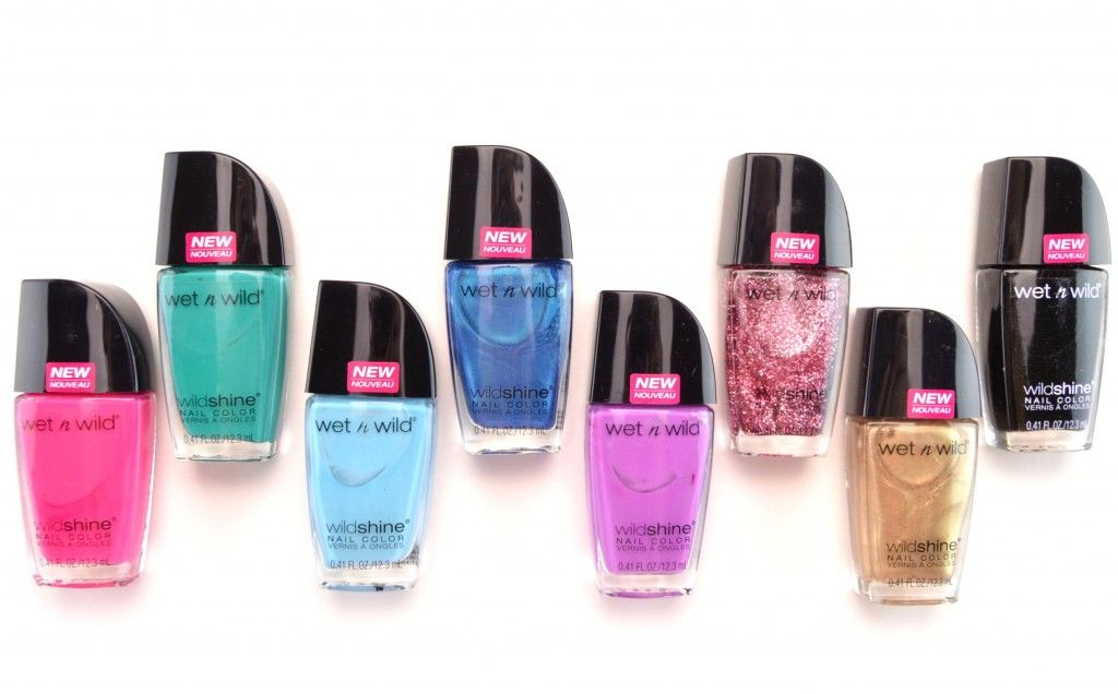 Wet n Wild Shine Nail Polish. I want all these colors except for the ...