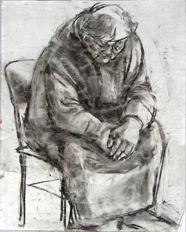 Figure 1998 charcoal