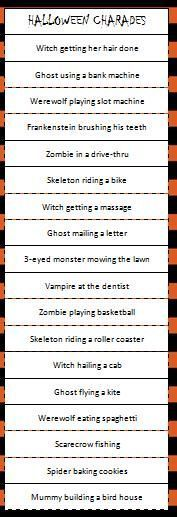 Canny image within halloween charades printable