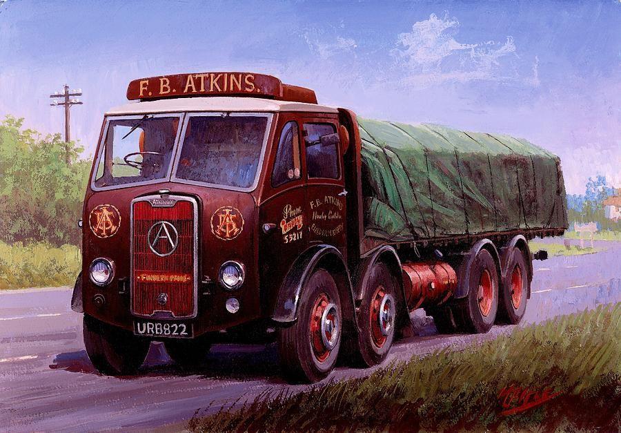 Atkinson Atkins - GB   Art of transportation   Pinterest   Road ...