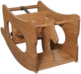 33 Off Amish Furniture Handcrafted Baby 3 In 1 Rocking Horse