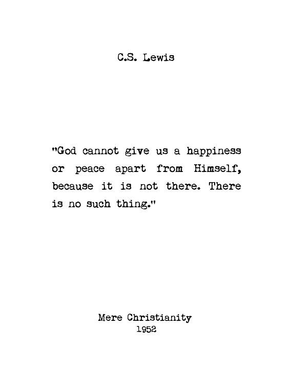 C.S. Lewis Wall Art Custom Art Book Quotes Home Decor | Etsy