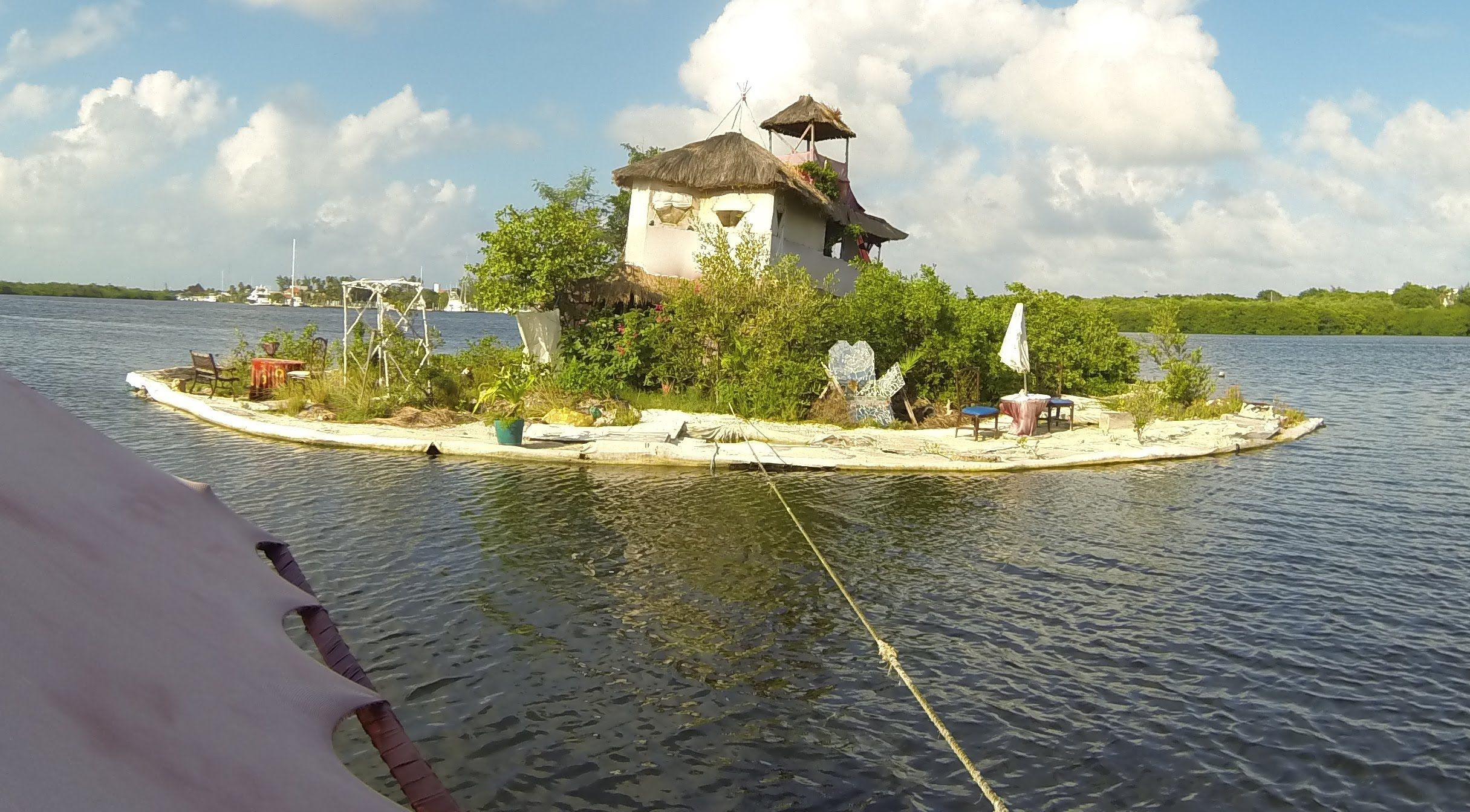 A Floating Artificial Island Built In Mexico By British