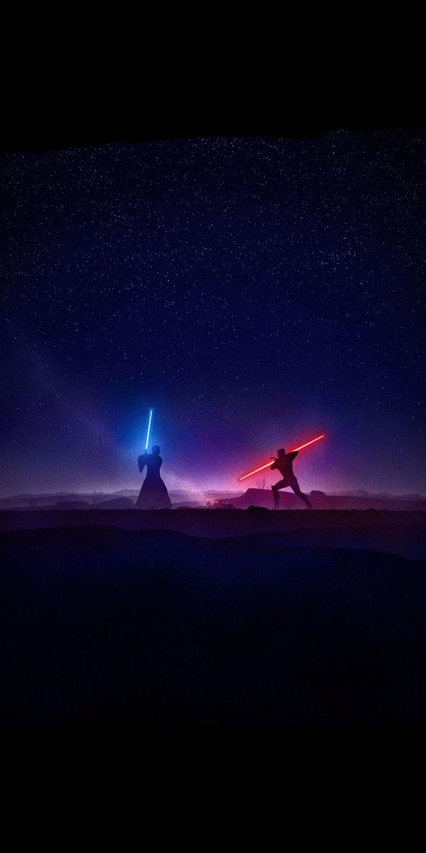 Star wars rebels kenobi vs maul lightsaber duel by marco manev 18 9 wallpaper rebels star - 18 by 9 wallpaper ...