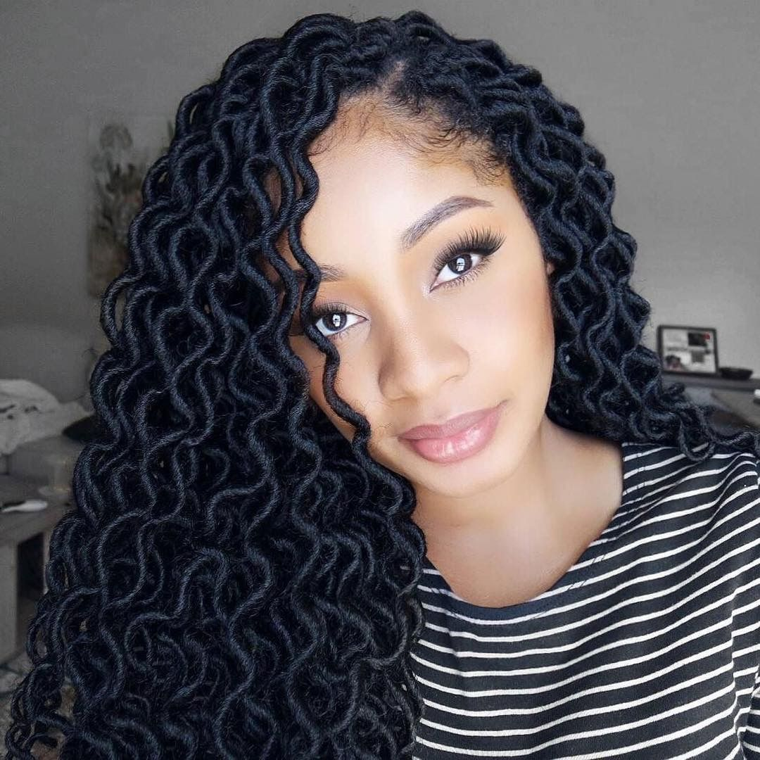 Crochet Curly Locs In 2019 Crochet Hair Styles Crochet