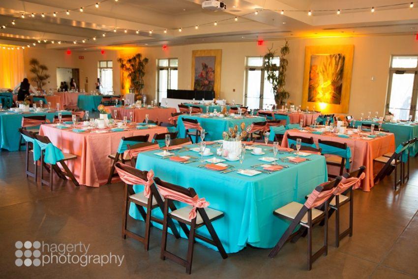 Phoenix Bride And Groom Real Arizona Wedding Desert Outdoor Ceremony Orange Turquoise Hagerty