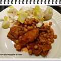 Photo of Pork stew with chickpeas and chorizo - The art of accompaniment …