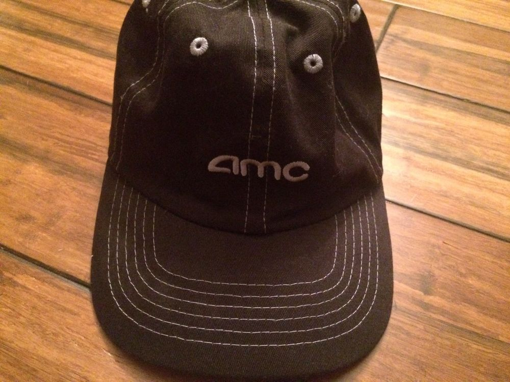 94e20e09087 Adjustable Baseball Hat AMC Movie Theatre Uniform Employee The Walking Dead