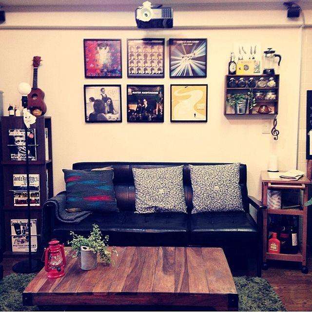 リビング おうちカフェ アンティーク 一人暮らし 音楽室 などのインテリア実例 2013 12 02 16 39 17 Roomclip ルームクリップ インテリア 模様替え インテリア シンプル
