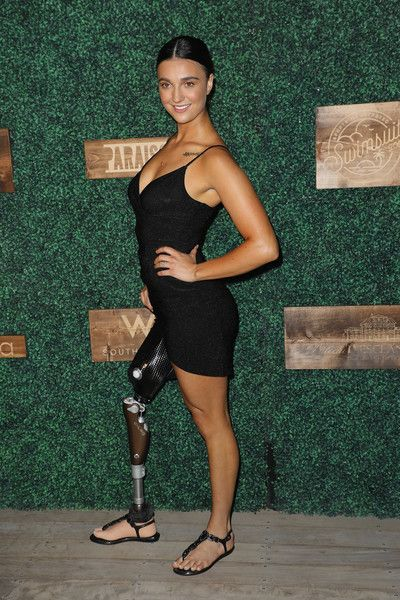Brenna Huckaby At Sports Illustrated Swimsuit show, Miami