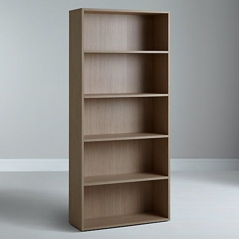 John Lewis The Basics Dexter Tall Wide Bookcase Furniture