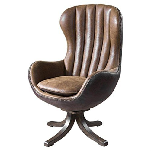 Amazing 47 Toffee Brown Faux Suede And Faux Leather Vintage Styled Pabps2019 Chair Design Images Pabps2019Com