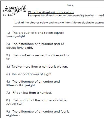 Algebraic Expressions 3 Places To Visit Pinterest Algebraic Free Worksheets Mixed Numbers Algebraic Expressions 3 Science Worksheets, Free Worksheets, Algebraic Expressions, Media Literacy, Social