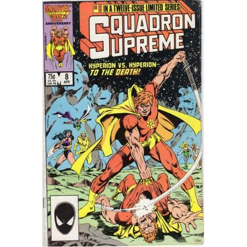 SQUADRON SUPREME #8 | Marvel Comics | 1985-1986 | MINI-SERIES | The Recycled Find