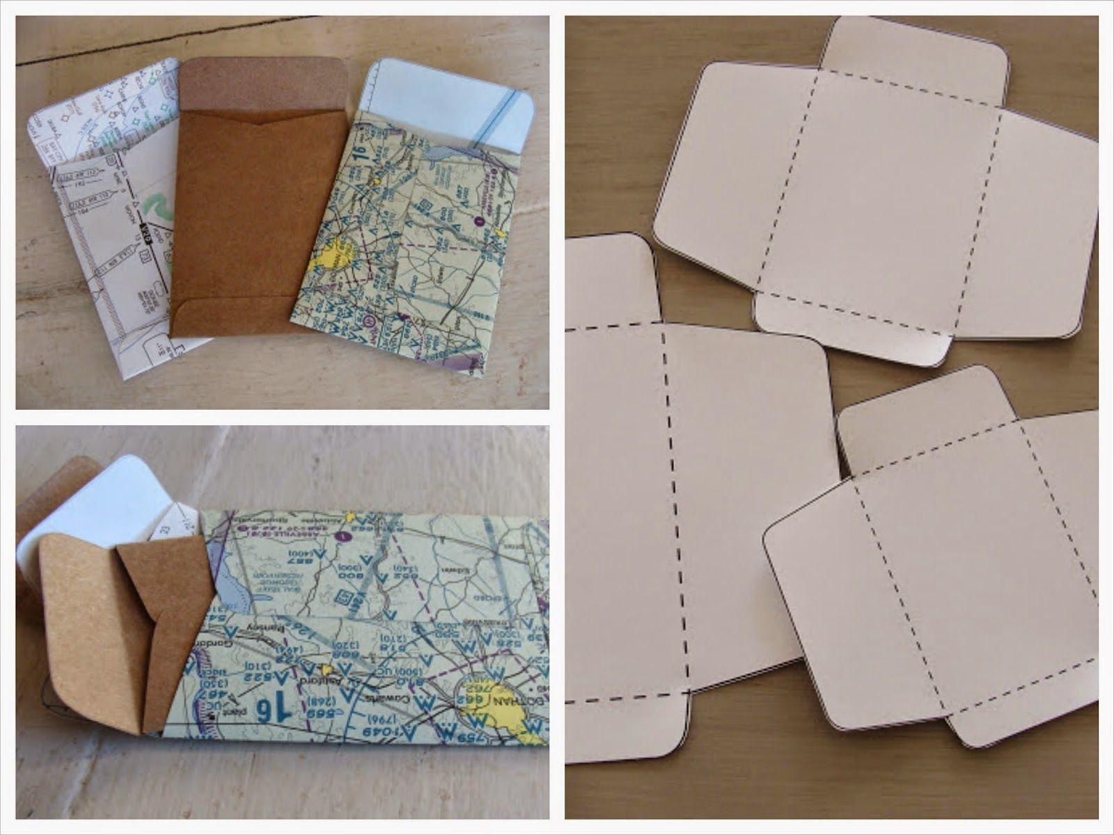 Plantilla para hacer sobres | Tarjetas de invitación | Pinterest ...