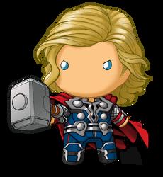 Chibidoll Thor By Kevinraganit Chibi Marvel Superhero Coloring Chibi