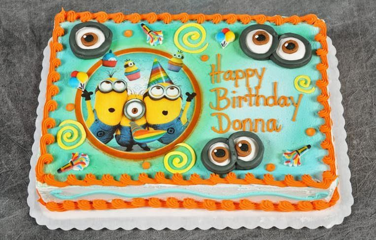 Superb 50 Best Despicable Me Birthday Cakes Ideas And Designs 2019 Funny Birthday Cards Online Fluifree Goldxyz
