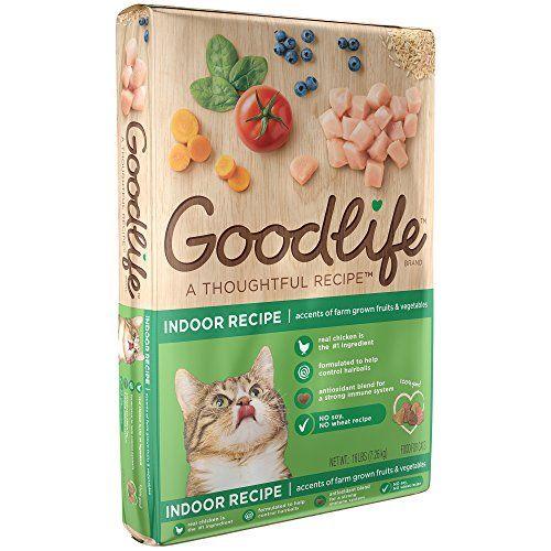 Goodlife Adult Indoor Chicken Recipe Dry Cat Food 16 Pounds Cat
