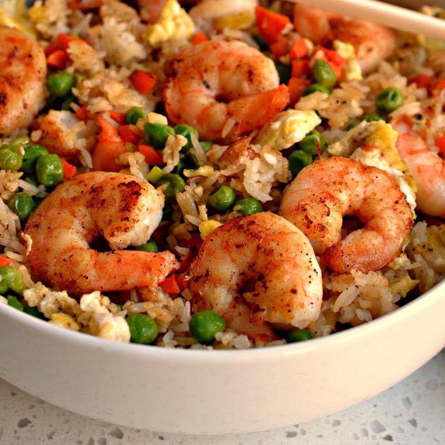 Shrimp Fried Rice #shrimp #Fried Rice #shrimp fried rice # ...