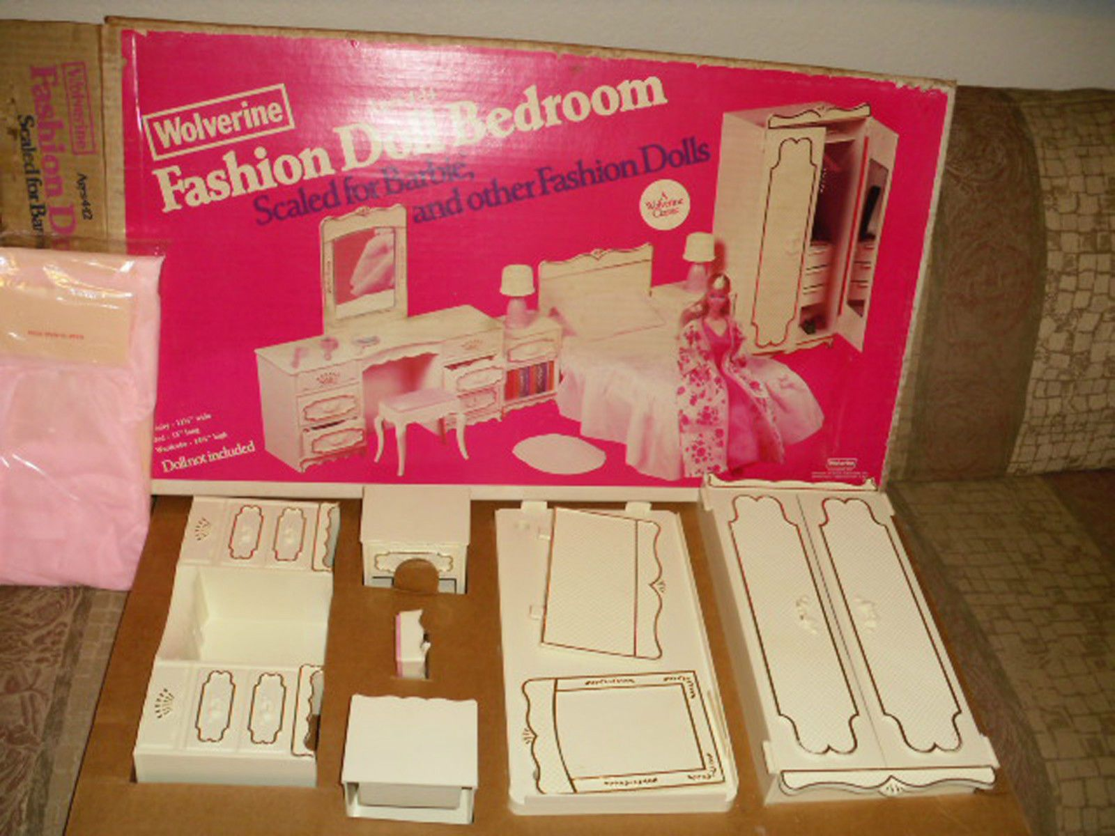 Barbie Bedroom In A Box: Vintage Unused Wolverine / Barbie Bedroom Furniture Boxed