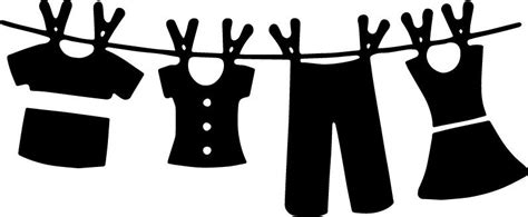 Download clothesline svg clipart - Google Search | Free stencils ...