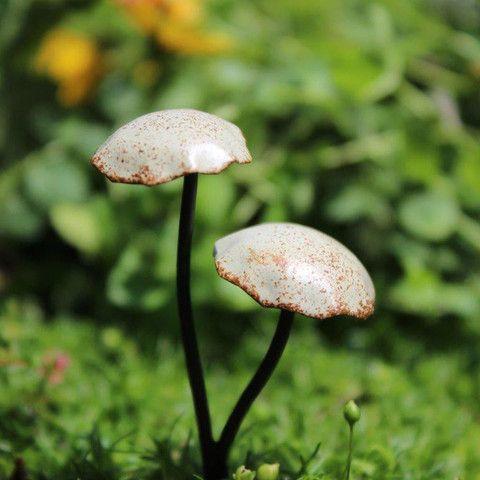 Metal Fairy Mushrooms