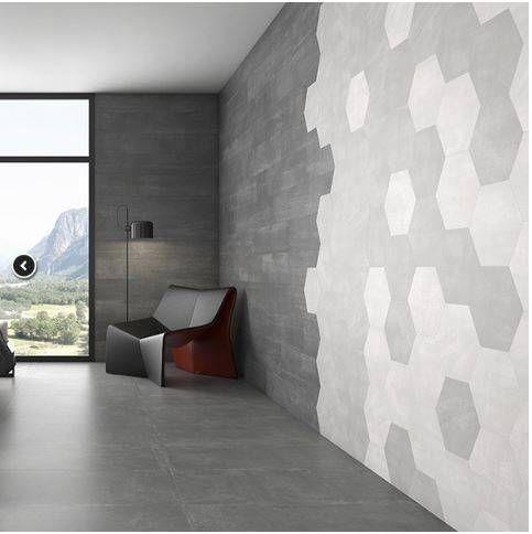 Carrelage Effet Beton Sol Et Mur Rennes 35 Avec Images Style Industriel Carrelage Decoration Maison