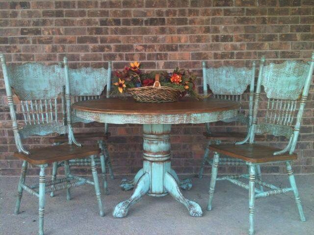 Color Ideas For Our Old Table Shabby Chic Chairs Shabby Chic Kitchen Table Shabby Chic Furniture