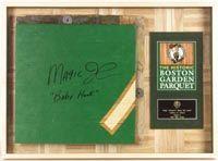 Fleet Center Parquet Floor Home Court Of The Boston Celtics Since 1946 Autographed Pieces Of Parquet Were Encase Framing Photography Acrylic Sheets Flooring