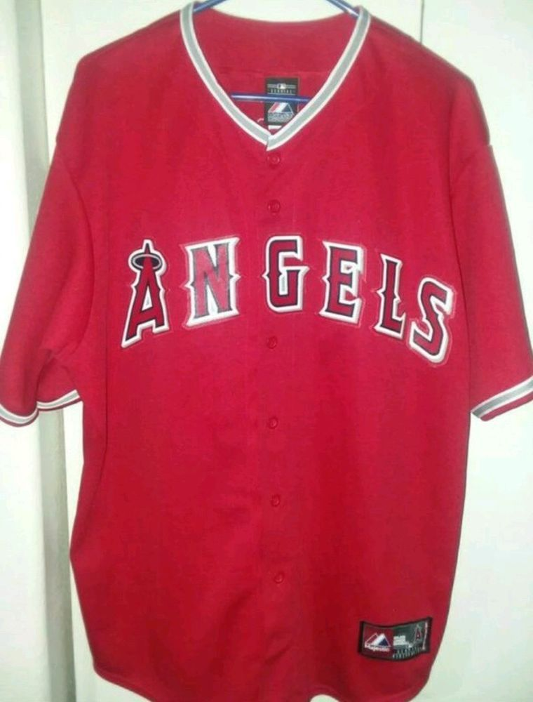 e766ef96c04 Mike Trout Los Angeles Angels Majestic Baseball Jersey ADULT XL   40.00 End  Date  Wednesday