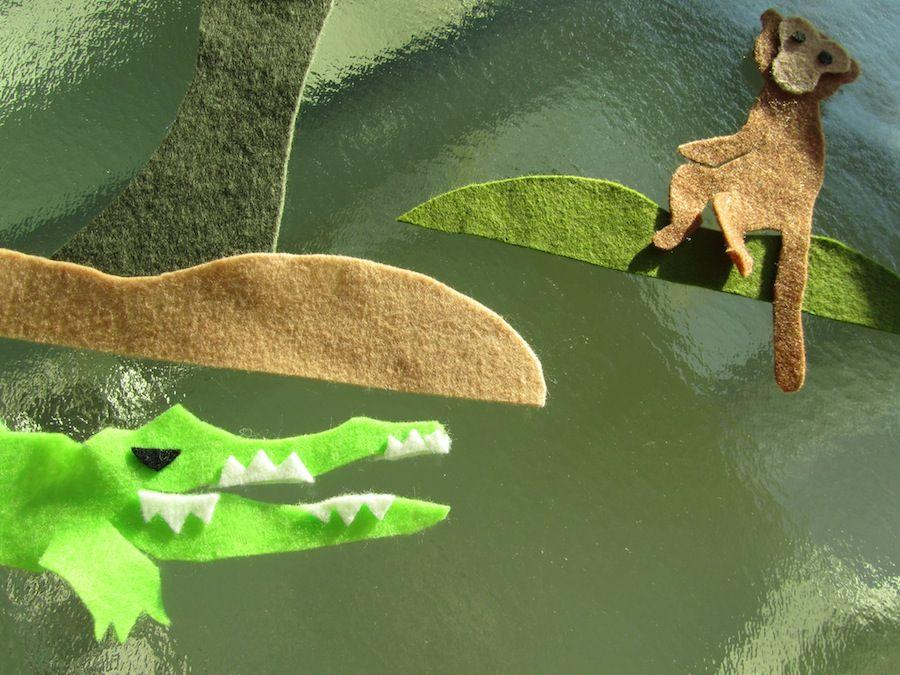 THE MONKEY AND THE CROCODILE 14 Crocodile, Childrens