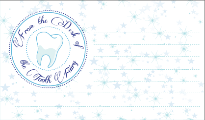 Image Detail For Printable Authentic Tooth Fairy Letterhead Alanna George The