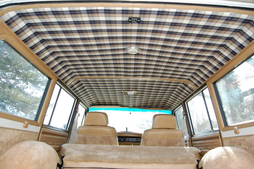 Opinions On New Headliner Pattern International Full Size Jeep