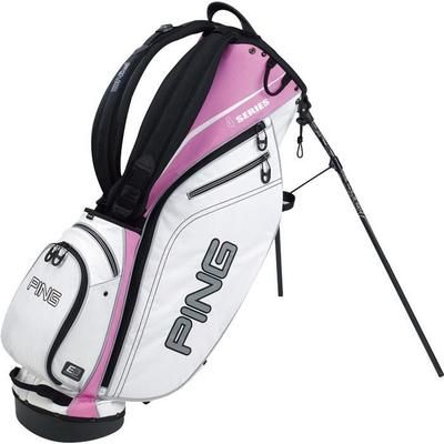 great fit united kingdom great look Ping 4 Series Carry Bag White/Pink | Ping golf bags, Ladies ...