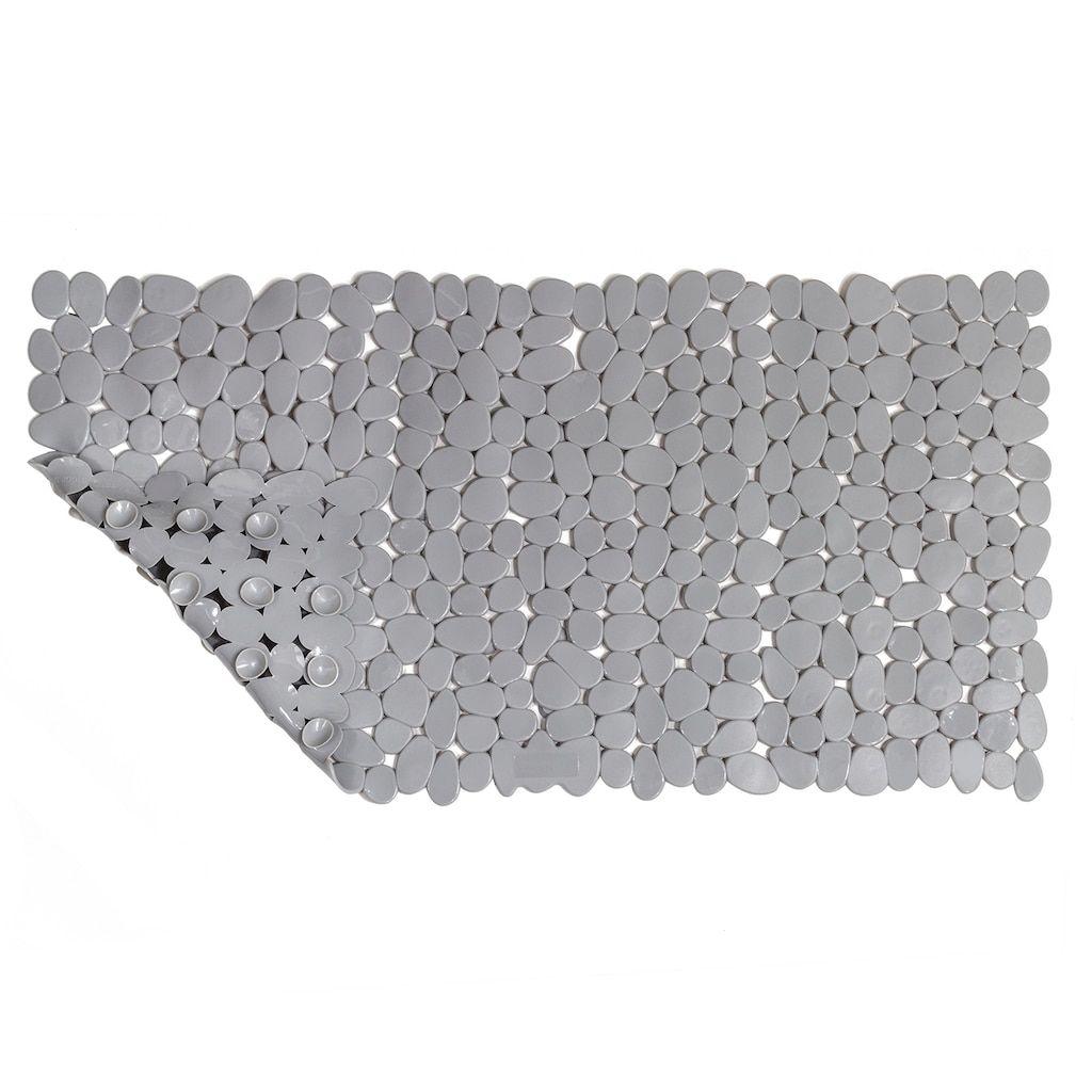 Sonoma Goods For Lifea Pebble Stone Bathtub Mat Grey Stone