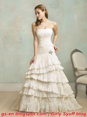 Vintage German Wedding Dress