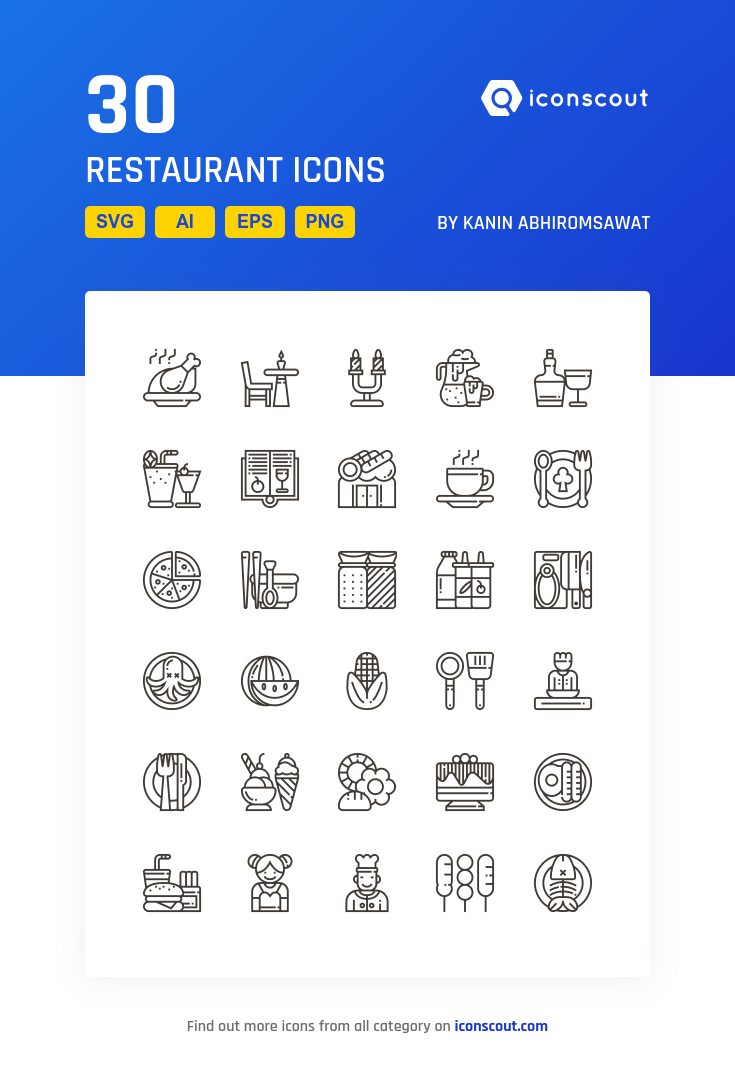 Download Restaurant Icon Pack Available In Svg Png Eps Ai Icon Fonts Icon Pack Restaurant Icon Icon