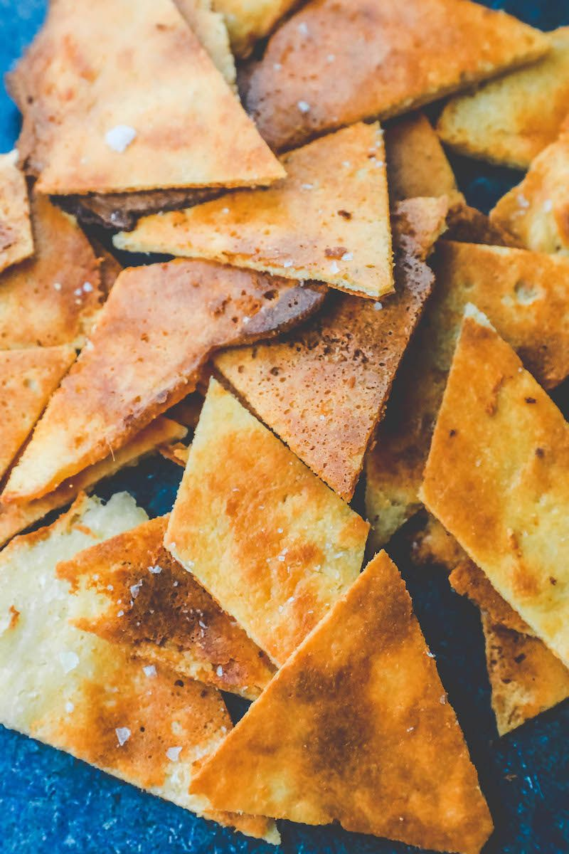 Easy Keto Tortilla Chips Recipe - side dishes #sidedishes ...