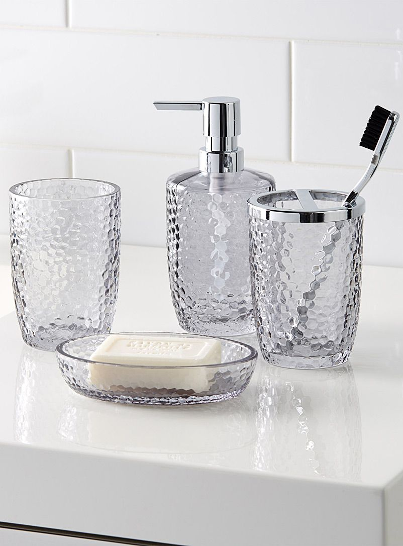 Smoked glass accessories | Pinterest | Soap dishes, Glass and ...