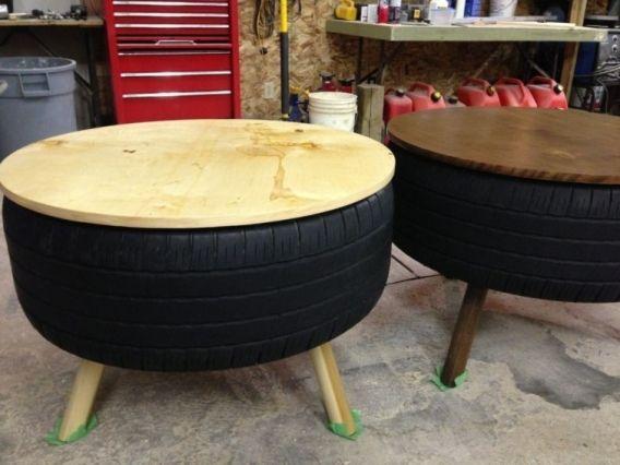 Ingeniosas formas de reciclar y reutilizar neumticos Bar Muebles