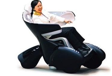 futuristic cozy wheelchair