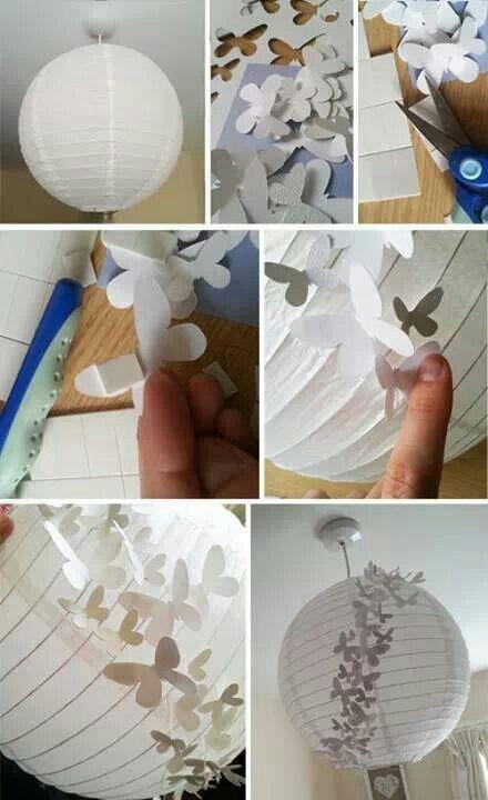 Diy Lámparas De Papel Paperblog Lámparas De Papel Papel De Bricolaje Linternas De Papel