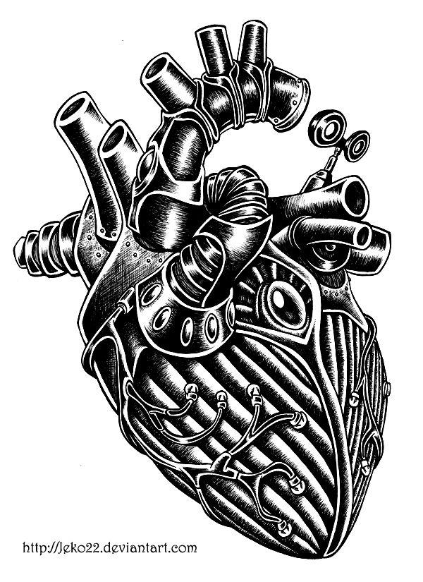 Clockwork Heart by Jeko22 on deviantART
