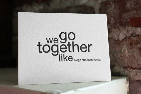 We go together like blogs and comments daily motivation pinterest funny nerdy valentines day cards colourmoves