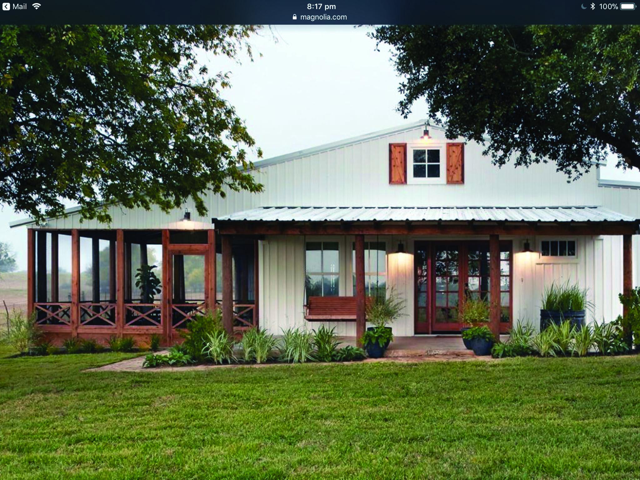Aussergewohnliche Metallgebaude Hauser Livingston Tx Nur Zu Hause Wie Kunstdesign In 2020 With Images Metal Building Homes Metal Buildings Building A House