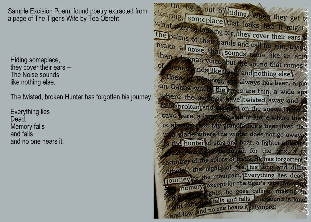 Excision Poetry